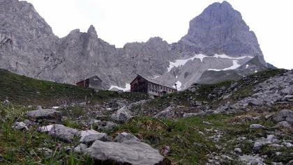 Lamsenjochhütte und -spitze (26.07.2010)