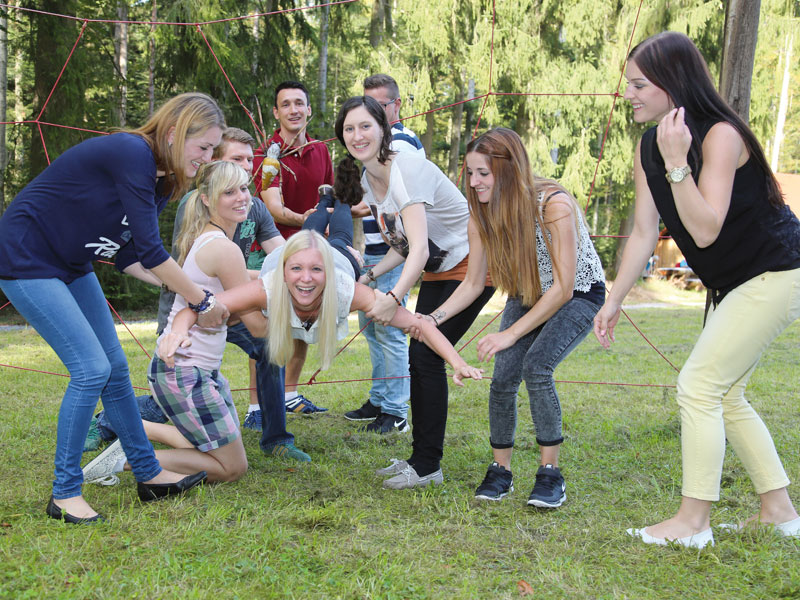Gemeinsam Stärken erleben - Methoden die Spaß machen  - @ Autor: Beate Philipp  - © Quelle: Hanne Brütting