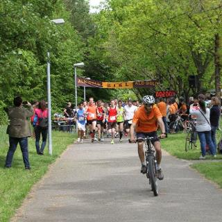 Start des 10 km-Laufs