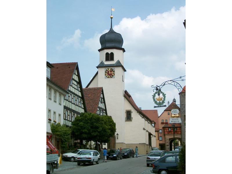 Stadtkirche Langenburg   - © Quelle: Stadt Langenburg