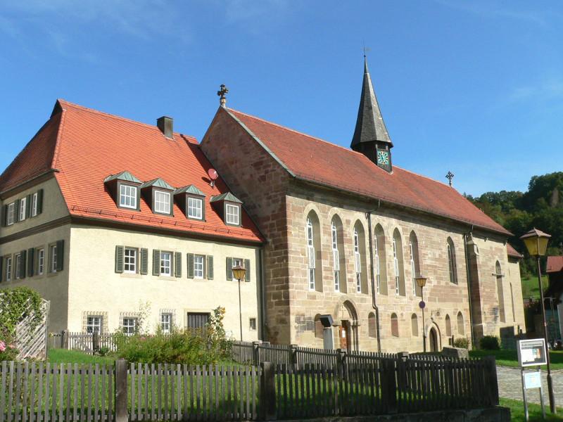 Klosterkirche Gnadental   - © Quelle: Gemeinde Michelfeld