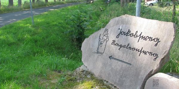 Beginn Stadt-Napoleonsweg am Ortsausgang Kohlenhausen