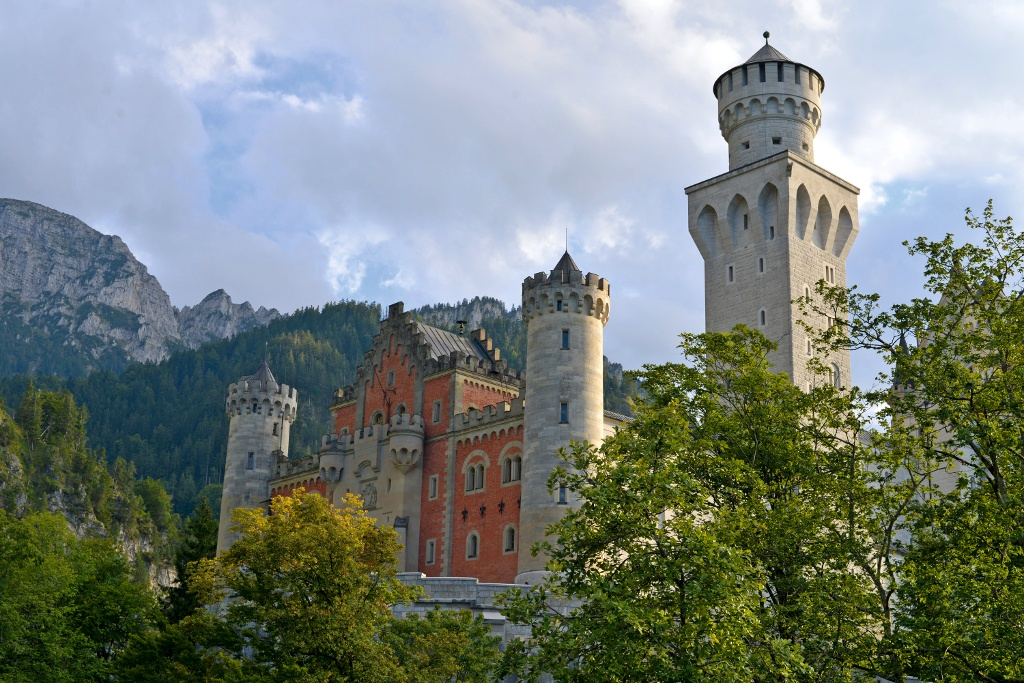 Schloss Neuschwanstein - @ Autor: MS&P, Michael Schott - © Quelle: Tourismusverband Ostallgäu e.V.