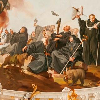 Motiv in der Basilika Ottobeuren_03