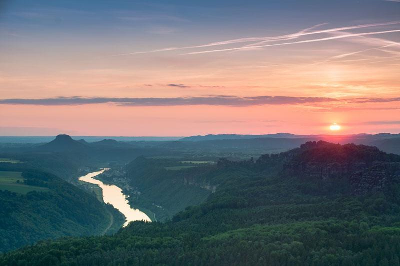 Blick von der Kipphornaussicht am Großen Winterberg