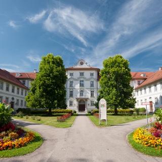 Das Schloss von Bad Wurzach