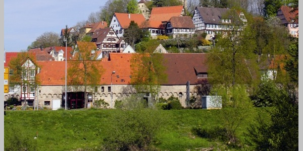 Schlossberg Möckmühl im Jagsttal