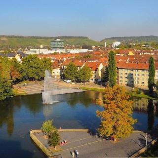 Blick auf Heilbronn