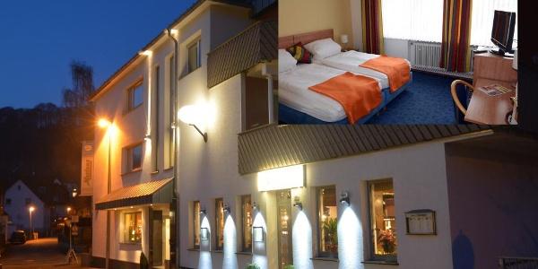 Aussenansicht Hotel-Pension Mertens, Altenbeken