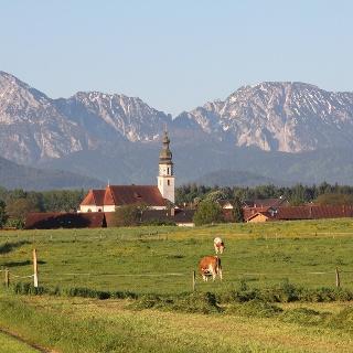 """""""Klausweiweg"""" mit herrlichem Bergpanorama auf Staufen und Zwiesel"""
