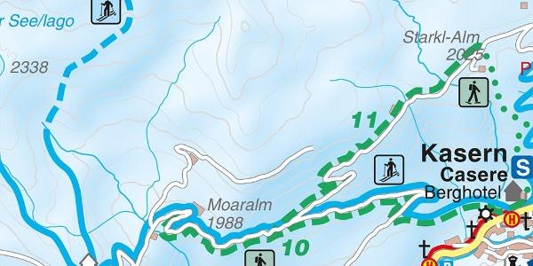 Schneeschuhwanderung Moaralm