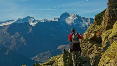 Tour in montagna al passo dei Tauri