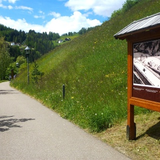 "Grödner Bahnweg - ""La ferata de Gherdëina"""
