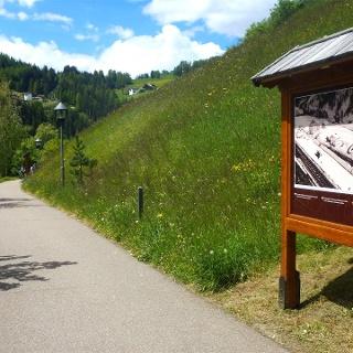 "The Val Gardena Railway trail - ""La ferata de Gherdëina"""