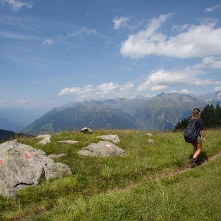 European Hiking Route E5 in the Passeier Valley