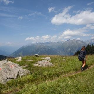 Sentiero europeo E5 nella Val Passiria