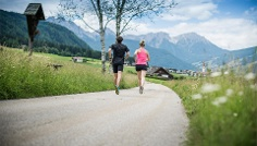 Jogging: Rasun di Sotto / Niederrasen