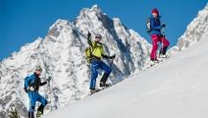 Ski Touring to the Mount Rotwand
