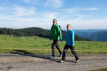 St. Georgen - Barrierefreie Wanderung vom Kesselberg zum Breghäusle