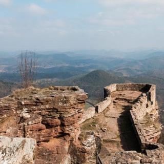 Blick von der Ruine Wegelnstein