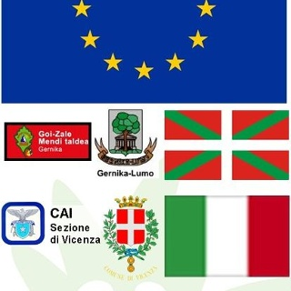 Partnerstädt CAI-Vicenza-GOIZAL-Gernika-DAV-Pforzheim in Europa