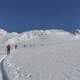 Aufstieg zur Köllkuppe, Cima Marmotta