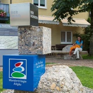 Start- und Willkommensplatz Oberstaufen