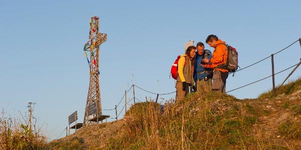 Gipfelkreuz am Hochgrat