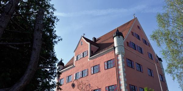 Das rote Schloss in Unterthingau