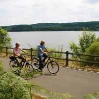 Radfahren am See