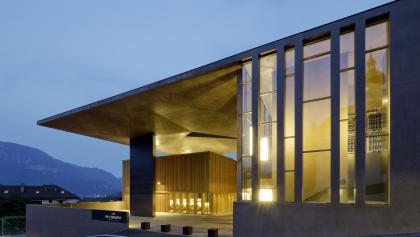 Die bei der Architekturbiennale ausgezeichnete Kellerei Nals Margreid