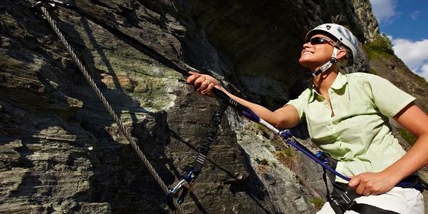 Klettersteig in Hüttschlag