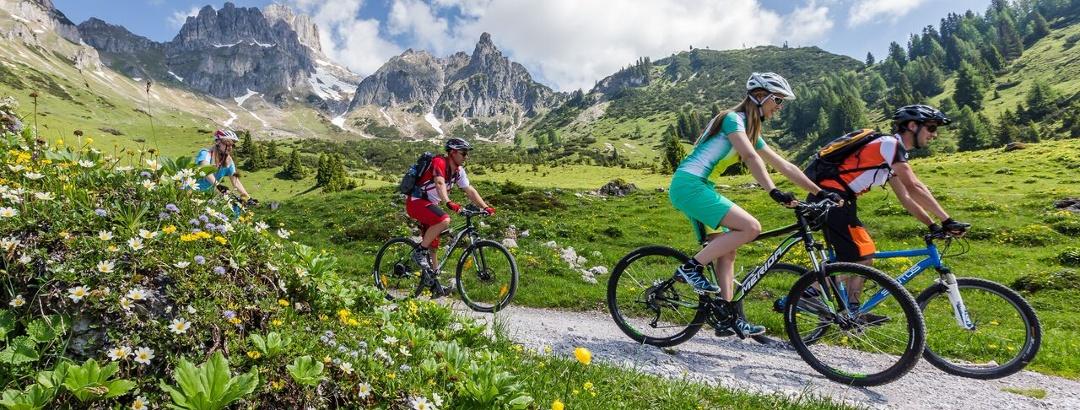 Mountainbiken in den Salzburger Sportwelten