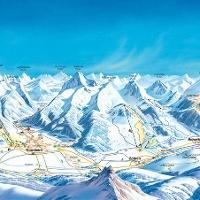 Winterpanorama Tannheimer Tal