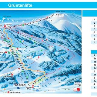 Winterpanorama Grüntenlifte