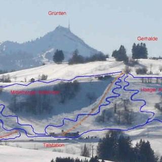 Winterpanorama Gerhalde-Skilift Oy-Mittelberg