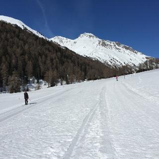 Winterlandschaft im  Schlinigtal