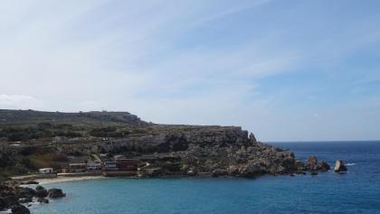 Blick auf Paradise Bay