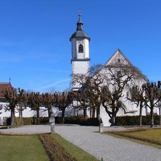 Schloß Zeil -Kirche