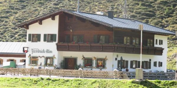 Der Alpengasthof Zirmbach