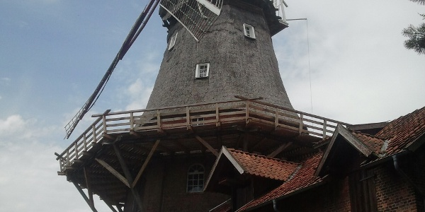 Windmühle in Brockel