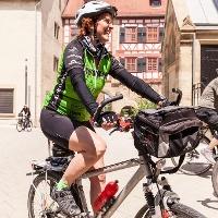 Radfahrer in Neuenstadt am Kocher