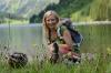 Abkühlung im Vilsalpsee  - @ Autor: Tourismusverband Tannheimer Tal  - © Quelle: Tourismusverband Tannheimer Tal
