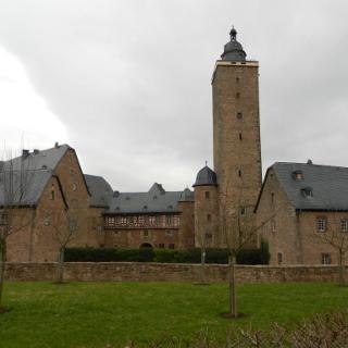 Das Schloss in Steinau an der Straße
