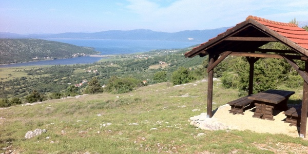 resting area and view point