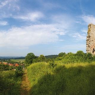 Die Löwenburg bei Lauenberg
