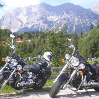 Motorradtour Salzkammergut