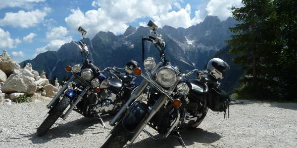 Motorradtour Slowenien