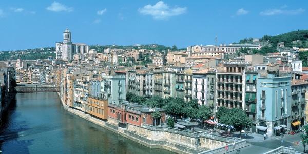 Costa Brava-Cultura- Vista Panoràmica Ciutat de Girona
