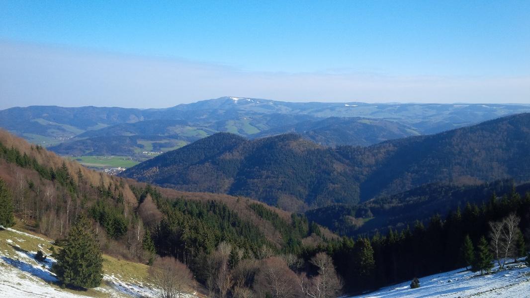 Über den schönsten Aussichtsgipfel des Dreisamtals nach Hinterzarten